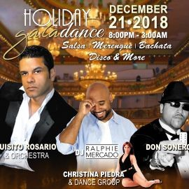 Image for Holiday Gala Dance - Salsa, Merengue, Bachata, Disco & More