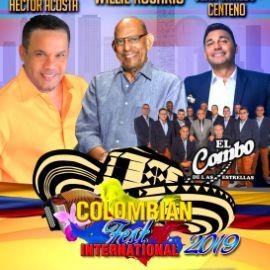 Image for Colombian Fest Houston 2019 con Willie Rosario, Jean Carlos Centeno, Hector Acosta, El Combo de las Estrellas y mas!