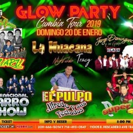 Image for Glow Party Cumbia Tour en Tracy