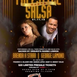 Image for Freestyle Meets Salsa Featuring Brenda K. Starr & George Lamond