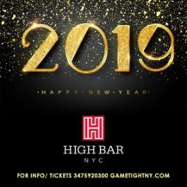 Image for Highbar NYC New Years Eve 2019