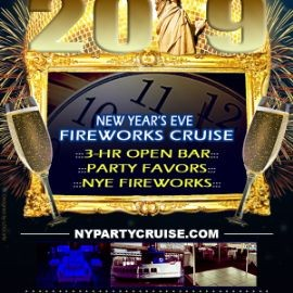 Image for New Year's Eve Fireworks Open Bar Cruise