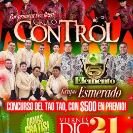 Image for Grupo Control, Elemento 5 & Grupo Esmerado en Hyattsvile,MD