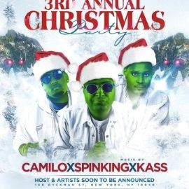 Image for 3rd Annual Christmas Party DJ Camilo Live At Republica