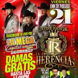 Image for Javier Rios JR. La Gran Herencia en Rockville,MD