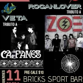 Image for CAIFANES \\ ZOÉ Live Tribute Night!!