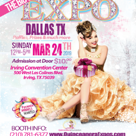 Image for Dallas Quinceanera Expo March 24th, 2019 at the Irving Convention Center