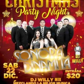 Image for Dj Max Productions Presenta Christmas Party con La Sonora Dinamita