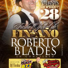 Image for Fiesta de Fin de Año con Roberto Blades