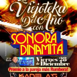 Image for La Viejoteka del Año con La Sonora Dinamita en Elizabeth,NJ