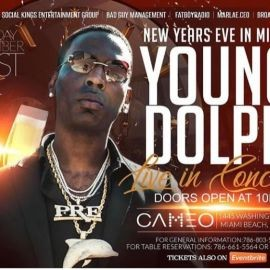 Image for NYE 2019 Young Dolph Live At Cameo Nightclub