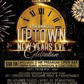 Image for 4th Annual Uptown New Years Eve Celebration At Biersrasse NYE