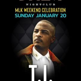 Image for MLK Weekend T.I. Live At Daer Nightclub In Atlantic City