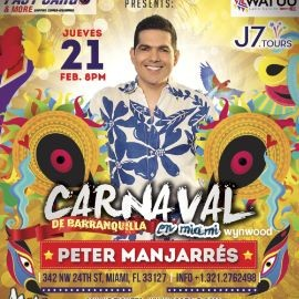 "Image for Carnaval De Barranquilla ""Peter Manjarres"" Maps Miami-Wynwood"