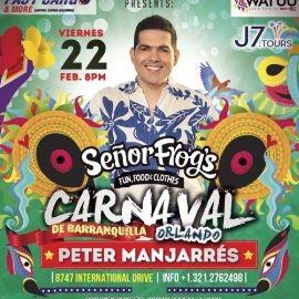 """Image for Carnaval De Barranquilla """"Peter Manjarres"""" Senor Frogs Orlando"""