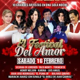 Image for EL FESTIVAL DEL AMOR 2019 EN NEW JERSEY- Silvana - Yaco Monti - Luis Angel - Tormenta - Henry Nelson - Karina Leo - El Puma Jr.