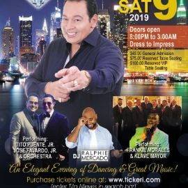 Image for Tito Nieves, an Elegant Evening of Dancing & Great Music!