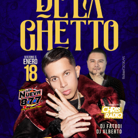 Image for DE LA GHETTO EN CONCIERTO EN STERLING,VA-NEW DATE