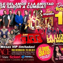 Image for Los Acosta, Los Askis y La luz de San Marcos- El baile con sabor a cumbia!