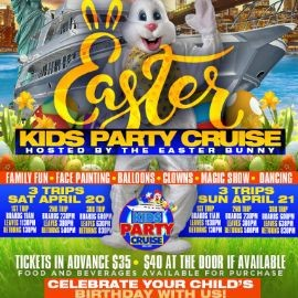 Image for Easter Kids Boat Party Cruise (11:00 AM-1:30 PM)