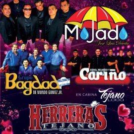 Image for Grupo Mojado, Grupo Bagdad, Grupo Cariño en Concierto en CHANNELVIEW,TX