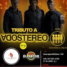 Image for Tributo a Soda Stereo en Jackson Heights,NY