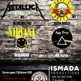 Image for Tributo a Metalica, Guns n' Rose's, Nirvana y Pink Floyd en Queens ,NY