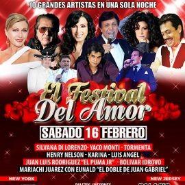 Image for EL FESTIVAL DEL AMOR 2019 EN NEW YORK - Silvana - Yaco Monti - Luis Angel - Tormenta - Henry Nelson - Karina Leo - El Puma Jr. -