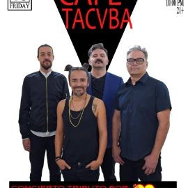 Image for CAFE TACVBA CONCIERTO TRIBUTO POR LA CHILANGA BANDA