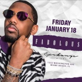 Image for MLK Weekend Fabolous Live At Exchange Miami