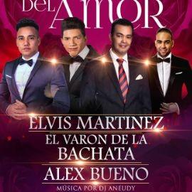 Image for Bachatazo del Amor con Elvis Martinez, El Varon de La Bachata & Alex Bueno en Queens,NY