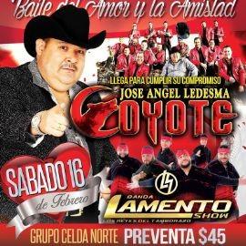 Image for Jose Angel Ledesma Coyote & Banda Lamento Show en Antioch,TN