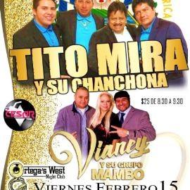 Image for Club Ortega's Presenta: Tito Mira y Su Chanchona + Vianey y Su Grupo Mambo