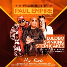 Image for Latin Vibe Fridays DJ Lobo Live At Mister East