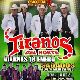 Image for Tiranos del Norte en Concierto en Gleendale, MD