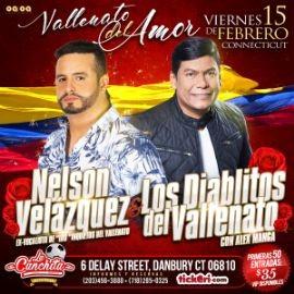 Image for Nelson Velásquez y Los Diablitos del Vallenato en Danbury, CT