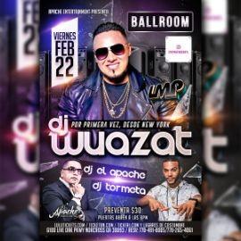 Image for DJ WUAZAT EN CONCIERTO
