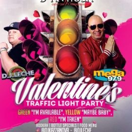 Image for Valentine's Traffic Light Party con La Mega 97.9