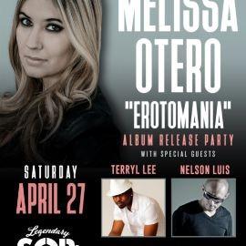"""Image for Melissa Otero """"EROTOMANIA"""" Album Release Party"""