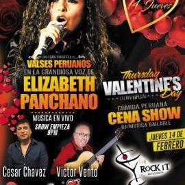 Image for En El Dia Del Amor Valses Peruanos en La Voz de Elizabeth Panchano Ex Los Kipus Del Peru