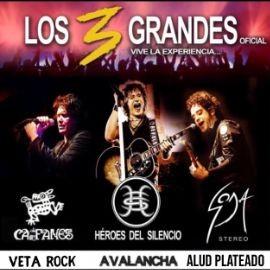 Image for HÉROES DEL SILENCIO\ CAIFANES\ SODA STEREO- Live Tribute Night