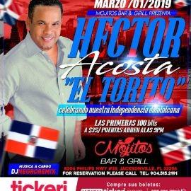Image for Hector Acosta El Torito en Concierto en Jacksonville,FL