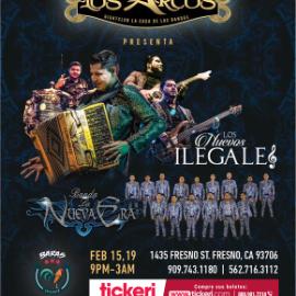 Image for Los Nuevos Ilegales y Banda La Nueva Era en Concierto en Fresno,CA