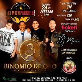 Image for Binomio de Oro de America en Orlando,FL
