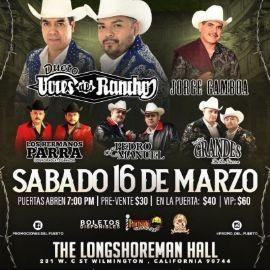 Image for Dueto Voces del Rancho, Jorge Gamboa, Los Hermanos Parra y mas en Wilmington CA