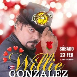 Image for WILLIE GONZALEZ(SALSA) en Concierto en GIRAFA'S !!!