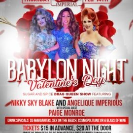 Image for Babylon Nights Valentine's Day Sugar and Spice Show