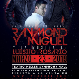 Image for Raymond & Miguel + Luisito Rosario