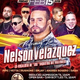 Image for Valentines Party Nelson Velasquez Live At SL Lounge