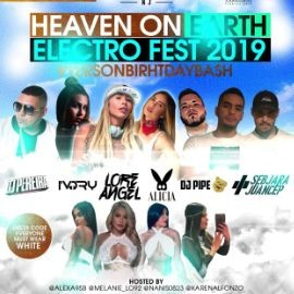 Image for HEAVEN ON EARTH ELECTRO FEST 2019, VESTIR DE BLANCO!!